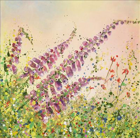 Yvonne-Coomber-Hedgerows-(Kaleidoscopic)-ii-Giclee-Print