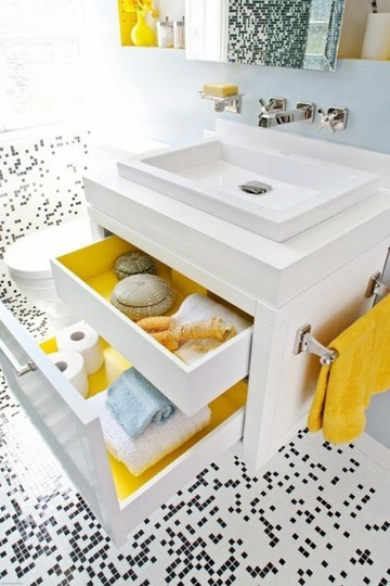 bathroom-colour-yellow-drawer