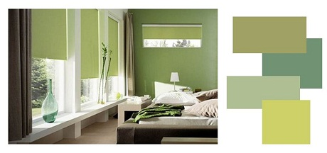 bedroom green