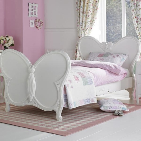 Your Daughter will love this Stunning Butterfly Bed