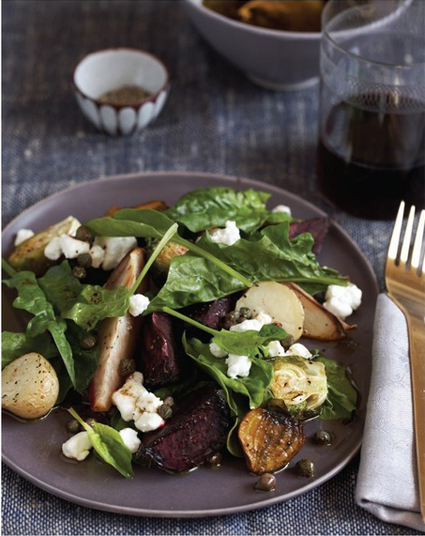 Beetroot Salad with Caper Dressing