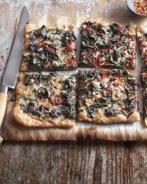 chard Pizza