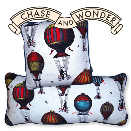 chase and wonder cushions