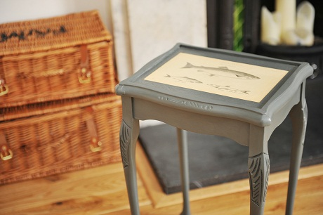 clio the muse side table