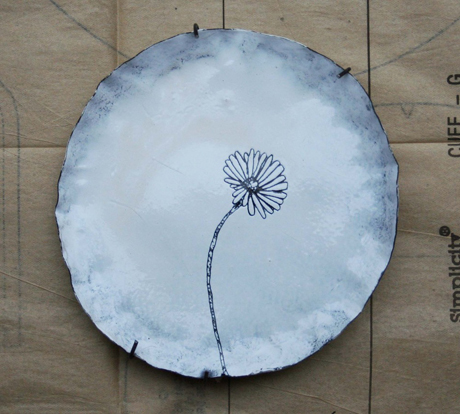 daisy plate Buddug