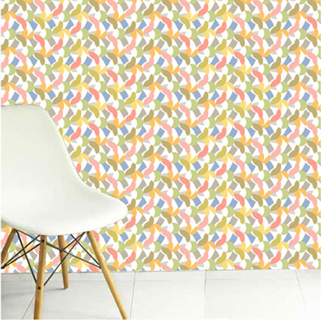 Dancing Birds wallpaper by Imogen Heath
