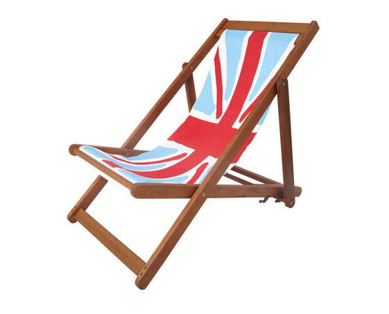 dunelm mill deck chair