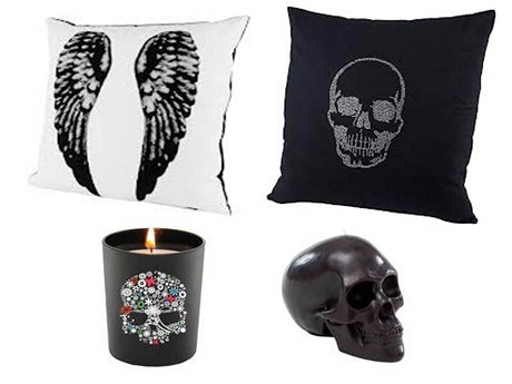 Www Dwell Co Uk Have Plenty Of Home Accessories And Interesting Wallpapers Around Now To Goth It Up For Some Halloween Inspired Decorating