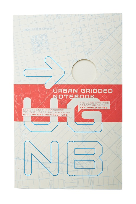 hirst and hirst urban gridded notebook - cover