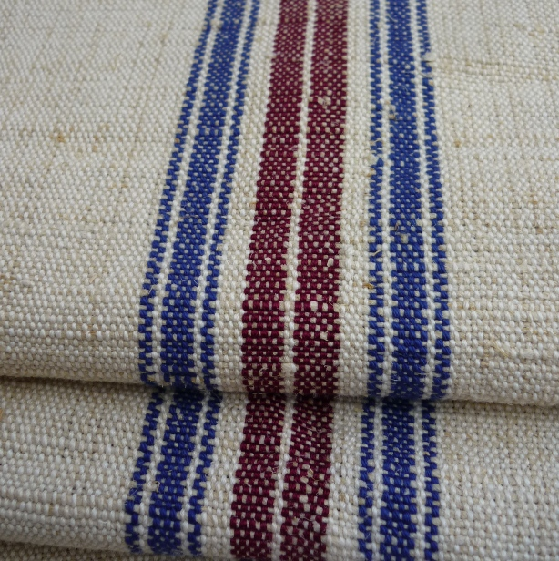 Vintage hand loomed hemp from Parna