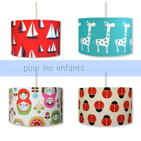 hunkydoryhome children lampshades 1