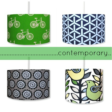 hunkydoryhome contemporary lampshades 1