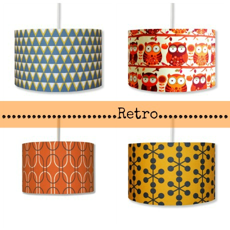 Retro style lamp shades vintage lamp shades add a touch of class to chandelier style lamp shade modern funky retro aloadofball Gallery