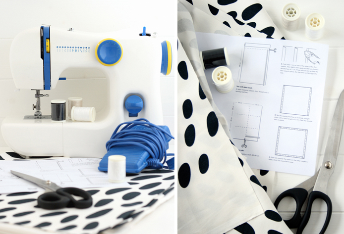 an ikea sewing challenge heart home. Black Bedroom Furniture Sets. Home Design Ideas