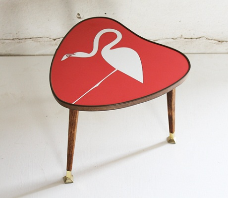 lucy turner - flamingo side table