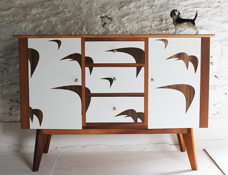 lucy turner - white bird sideboard