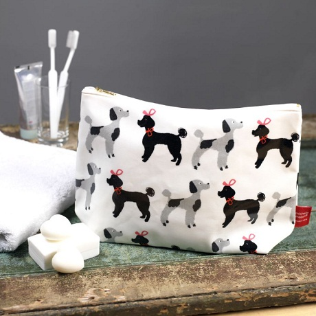 michelle mason poodles washbag