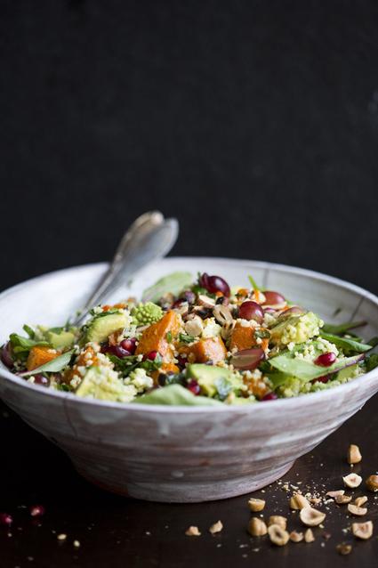 Winter Millet Salad