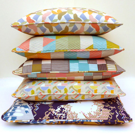 A selection of cushions by Imogen Heath