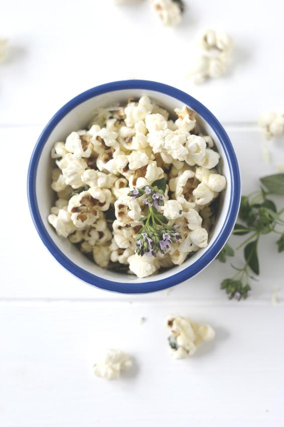 Parmesan Marjoram Popcorn