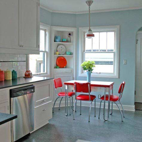 How to create a retro style kitchen heart home for 1950s style kitchen cabinets