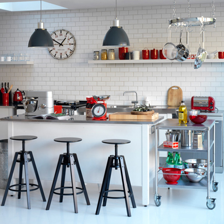 how to create a retro style kitchen heart home