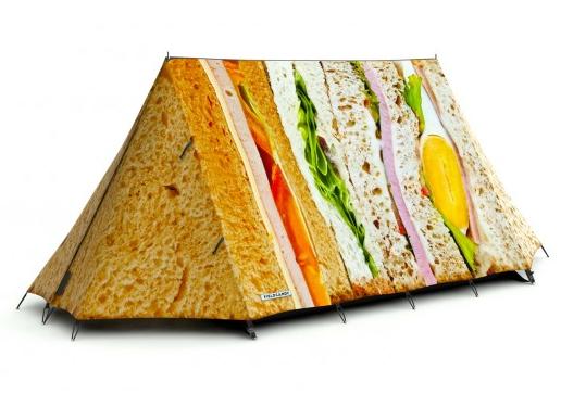 sandwich tent