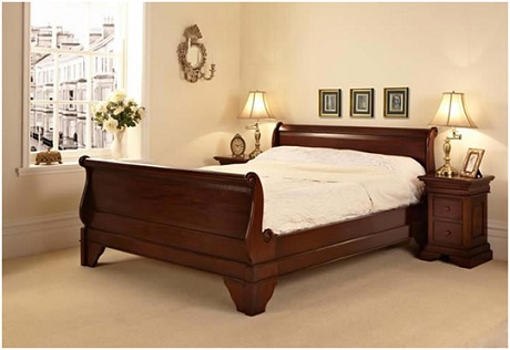 sleigh bed - the furniture market