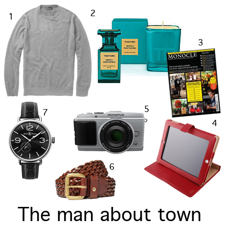 Christmas gift guide for the man about town