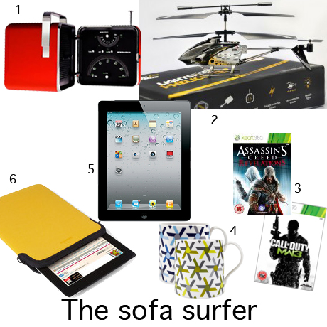 Christmas Gift guide for men - the sofa surfer