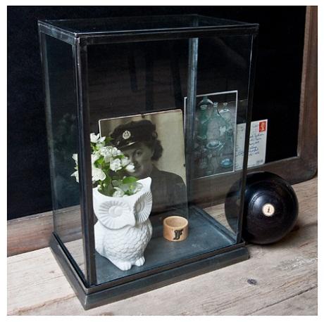 uniche, zinc display case