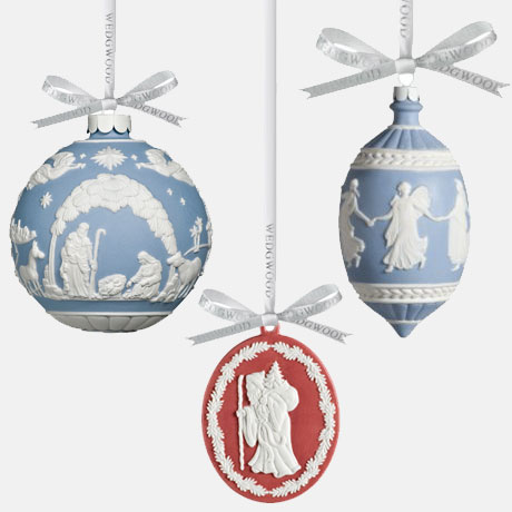 wegdwood christmas decorations - Buy To Last: Wedgwood Christmas Ornaments €� Heart Home
