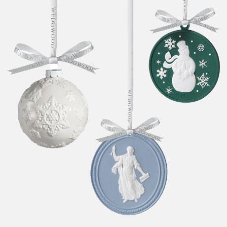 wegdwood christmas ornaments