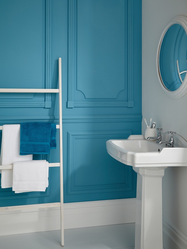 Pacific Ocean Kitchen and Bathroom paint. £14 for 2.5L.