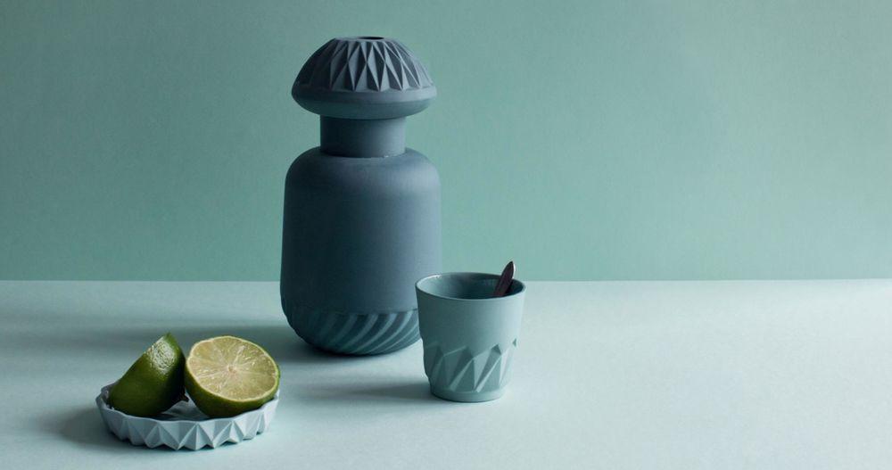 Twist Bottle, L'Espresso Cup, Minilicious Plate
