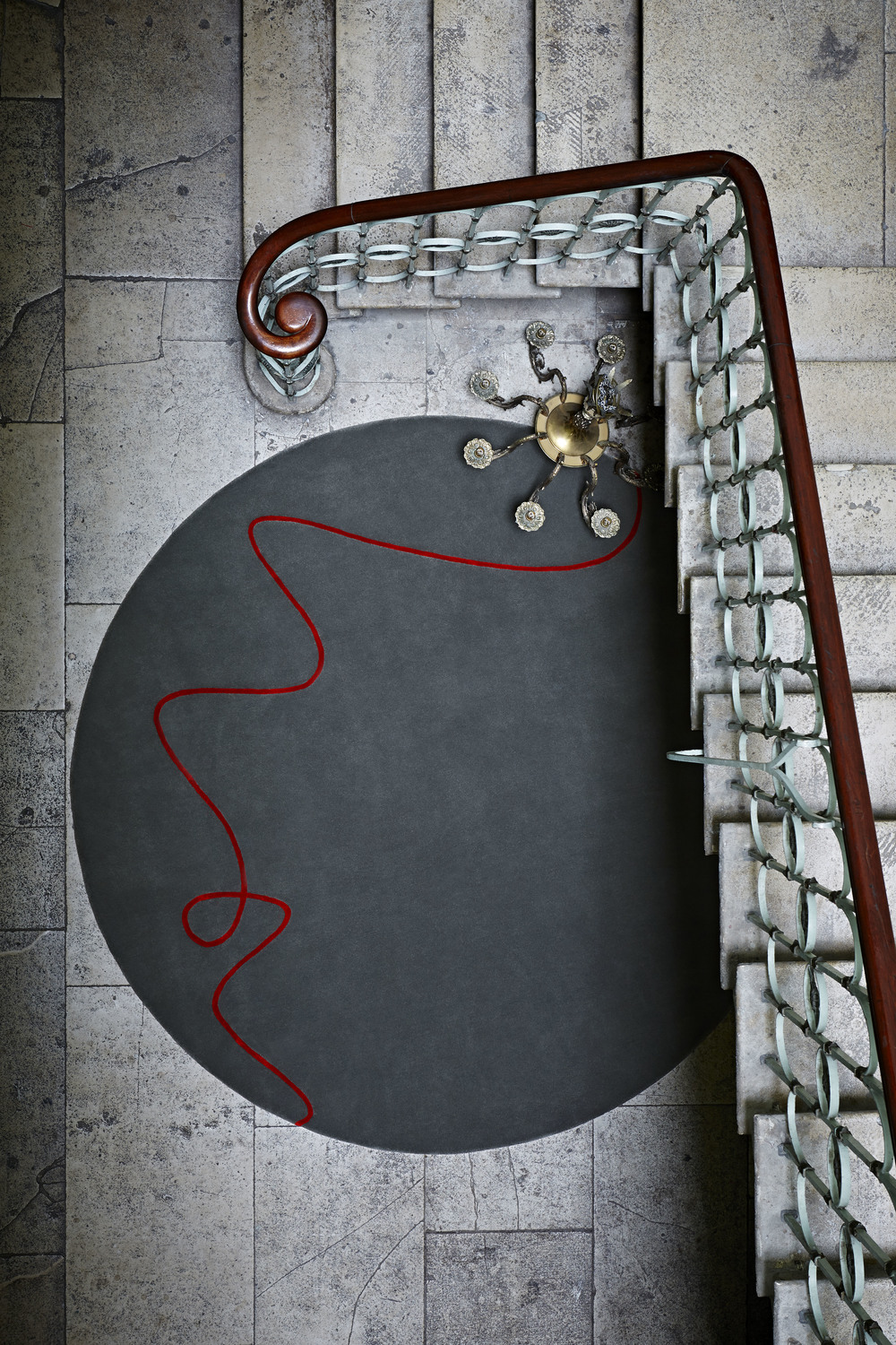 Red Thread by Staffan Tollgård for JAB Anstoetz Red Thread Collection from £695 sq m
