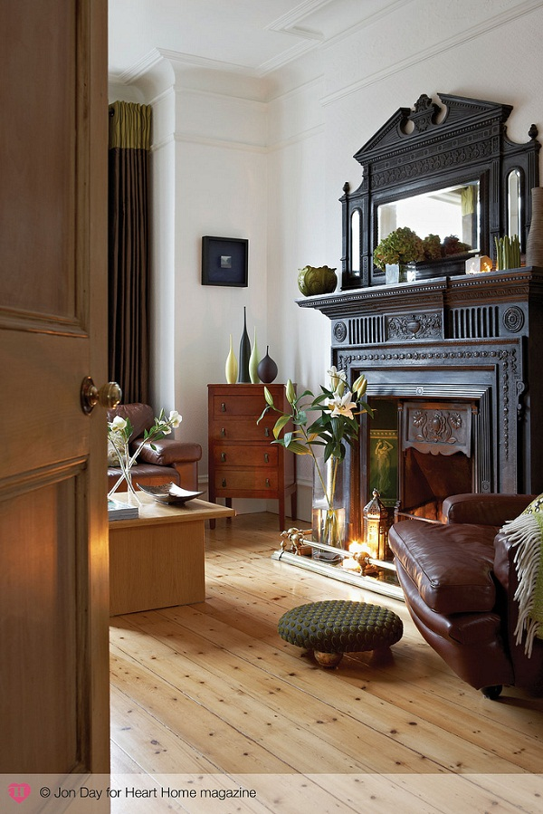 An eclectic edwardian house in south london heart home for Edwardian style interior design