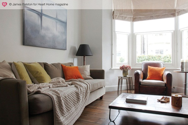 A victorian terraced house with industrial styling heart for Bedroom ideas victorian terrace