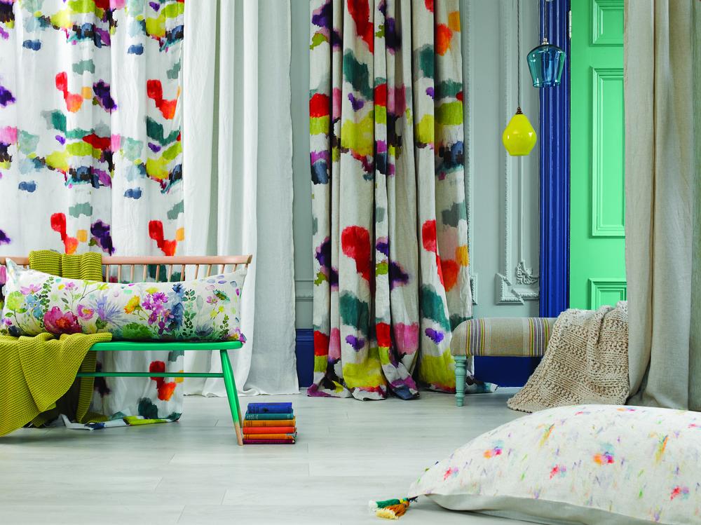 Wee Nevis, Big Nevis, Kirkcaldy & Dalvik fabrics