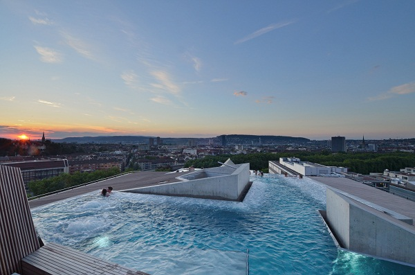 Thermalbad Spa, Zurich