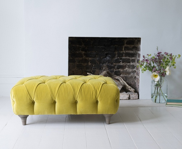 Dimple large footstool from -£395
