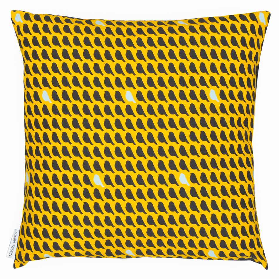 Woven Flock 45x45cm cushion - Sunrise by Lorna Syson.jpg