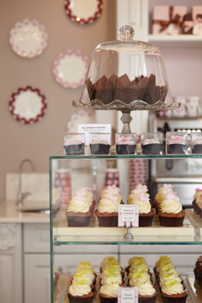Cakes at Peggy Porschen's Parlour