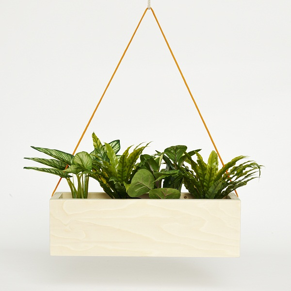 Plywood planter, £29.99, Factory Twenty One.