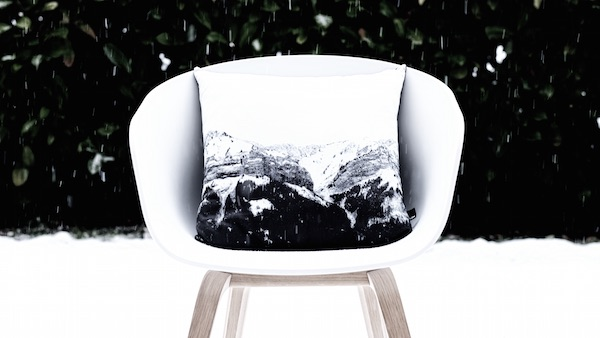 Mountain Cushion by HJEM