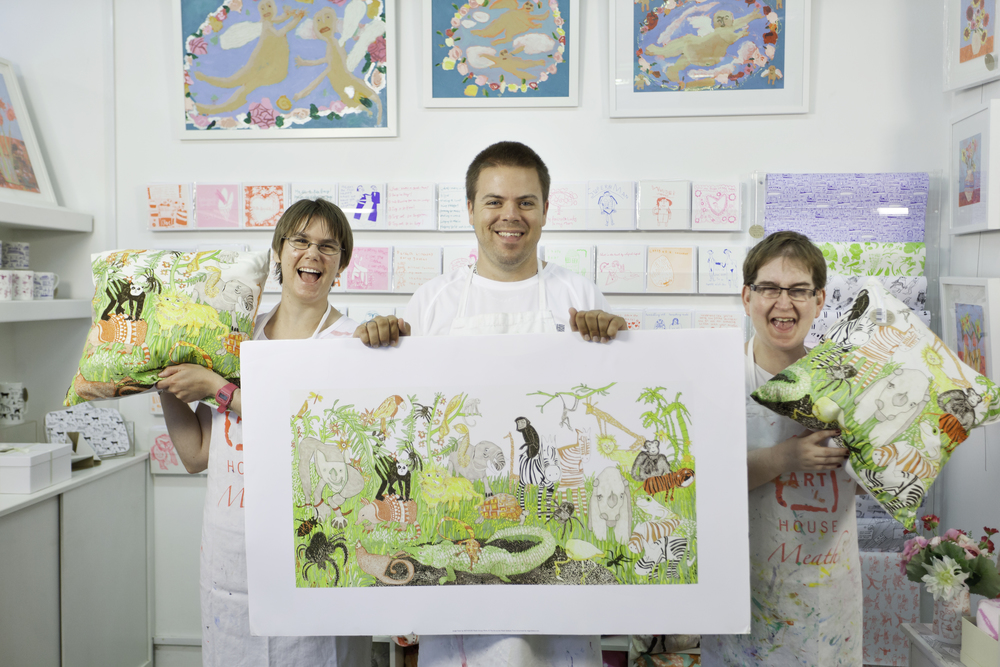 ARTHOUSE Meath artists Elanor Sinden, Ben Kennedy and Louise Palmer