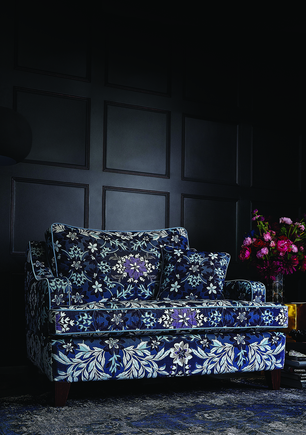 Long Island Snuggler in Monsoon Jude Velvet Denim, £1,479