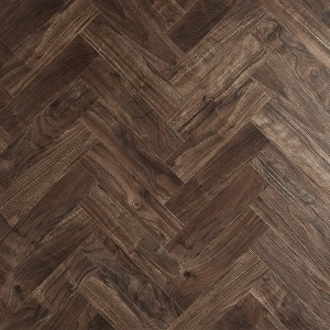 Walnut in Herringbone Pattern
