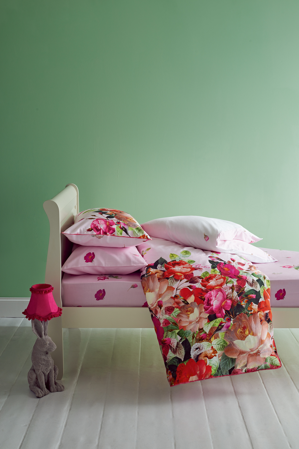Emily Rose duvet set, £50.