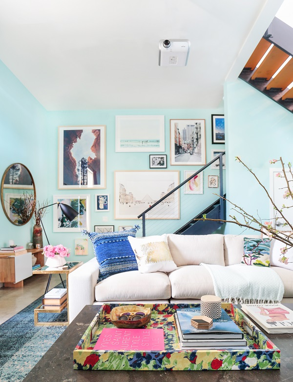 A Beachside Living Room Makeover + Get the Look — Heart Home